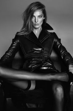Daria Werbowy by Mert & Marcus for Vogue Paris March 2015.