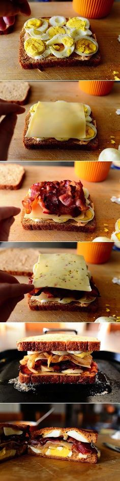 Ingredients  1 Tablespoon Butter  1 whole Medium Onion, Halved And Sliced  4 slices Bacon, Cut In Half  2 Tablespoons Mayonnaise   Severa...