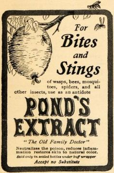 Pond's Extract For Bites and Stings