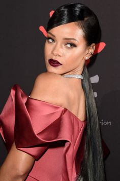 Rihanna's beauty transformations over the years: 2014
