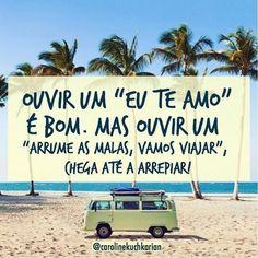 Exatamente assim! #regram @carolinekuchkarian que vende os biquínis que mais amooo!! #frases #praia #verão #viajar