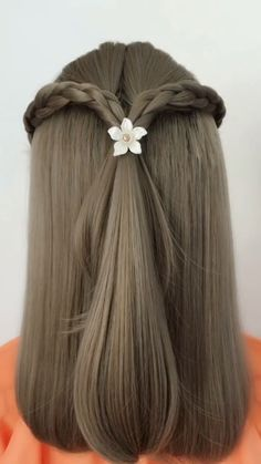 Haare Hairstyle Tutorial 902 Hair ideas for all hair lengths There are thousands of different haircu Super Easy Hairstyles, Easy Hairstyles For Long Hair, Braided Hairstyles, Cool Hairstyles, Hairstyles Videos, Black Hairstyles, Easy Wedding Hairstyles, Natural Hair Styles, Short Hair Styles