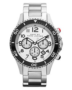Marc by Marc Jacobs Metal Rock Chrono Watch