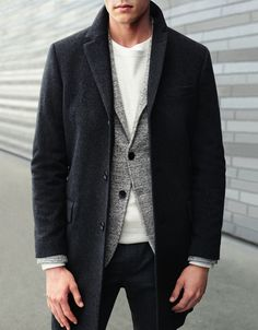 love it all // tshirt, blazer, topcoat, casual, denim