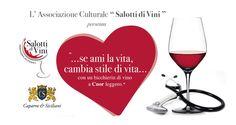 Cuore e Vino - Se ami la vita, cambi stile di vita… …con un bicchierin di vino a Cuor leggero.   - http://www.eventiincalabria.it/eventi/cuore-e-vino/