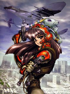 By Masamune Shirow