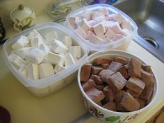 I made homemade marshmallow variety, yum! Cooking Stuff, Cooking Recipes, Worst Cooks, Homemade Marshmallows, Happy Endings, Candy Recipes, Farmers Market, Candies, Chocolates