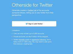 OtherSide. Changez de perspective sur Twitter