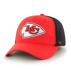 5d305d3c8cb Kansas City Chiefs Draft Day Closer Torch Red 47 Brand Stretch Fit Hat