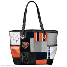 For The Love Of The Game Chicago Bears Tote Bag