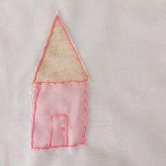 #home #house #littlehouse #homesweethome #pinkandgold #girlsroomdecor #littlegirls #littlethings #embroidery #handembroidery #ideas