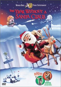 The Year Without a Santa Claus (Rankin/Bass) - (Full Video), animated children's comedy/light drama