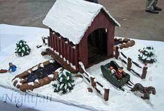 Gingerbread Covered Bridge