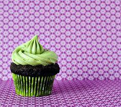 matcha green tea cream cheese cupcake frosting