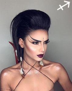 Makeup Looks for Every Zodiac Sign: Sagittarius #makeup #beauty