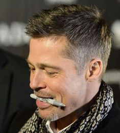 Brad Pitt Short Hairstyles - Best Brad Pitt Haircuts: How To Style Brad Pitt's Hairstyles, Haircut Styles, and Beard #menshairstyles #menshair #menshaircuts #menshaircutideas #menshairstyletrends #mensfashion #mensstyle #fade #undercut #bradpitt #celebrity #bradpitthair Mens Modern Hairstyles, Modern Haircuts, Hairstyles Haircuts, Haircuts For Men, Brad Pitt Hairstyles, 1960s Hairstyles, Drawing Hairstyles, School Hairstyles, Hair And Beard Styles