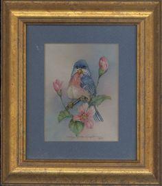 Bluebird's Perch 9 x