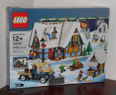 Lego+10229+Winter+Village+Cottage+1490+Pieces+New+in+Sealed+Box+NISB+NIB