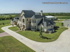 Gated custom French Provincial on 15 acres | Luxury homes, houses, and living in Texas