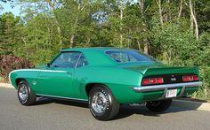 1969 Rally Green Chevrolet Camaro SS 396
