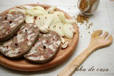 Toba de casa Romanian Food, Smoking Meat, Carne, Good Food, Cooking Recipes, Sweets, Moldova, Snacks, Breakfast