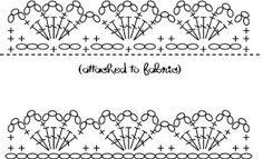 alipyper: Eyelet Lace Crochet Edging Pattern