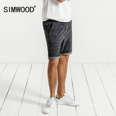 7c447c5e842a SIMWOOD 2017 Summer Casual Shorts Men Summer New Fashion Harem Drawstring  High Quality Short Male Brand Clothing WD017002-in Shorts from Men s  Clothing ...
