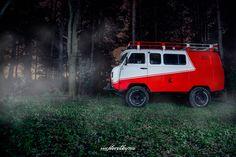 UAZ 452 Bukhanka Line-X Borodataya Ezda YouTube Channel photo by Pavel Korotky