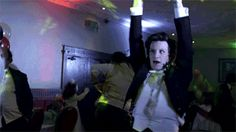 Sometimes, all you need is a GIF of Matt Smith dancing like a drunk giraffe.