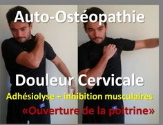 Neck pain: 2 Osteopathic Self treatment technique Qi Gong, Daily Stretching Routine, Yoga Muscles, Yoga 1, Self Treatment, Relaxing Yoga, Fitness Magazine, Neck Pain, Reflexology