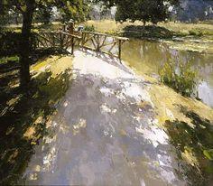 Alexi Zaitsev - Pond in Versailles