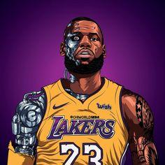 Basketball For Sale Nba Basketball, Lebron James Basketball, King Lebron James, Lebron James Lakers, Nba Sports, King James, Houston Basketball, Basketball Posters, Sports Art