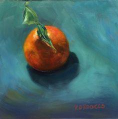 """Back lit Tangerine """"Tangelglow"""""""