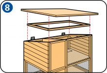 How to build a rabbit hutch or outside rabbit run Mini Lop, Meat Rabbits, Bunny Cages, Rabbit Run, Rabbit Hutches, Building, Instructions, Bunnies, Chicken Coops