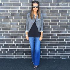 MON PERFECTO #drolatic #folk #lurex #hm #denim #mode #fashion #glasses #winter #perfecto #black #marseille #instagood #instasummer #flair @lisagermaneau