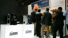 Zumex Soul and the multijuicer Multifruit at Gulfood 2015