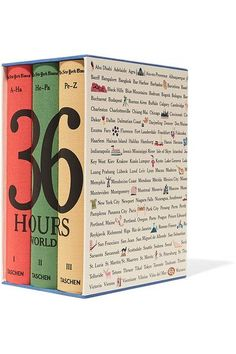 Taschen - Set Of Three: The New York Times 36 Hours - Blue - one size