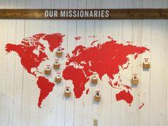 The Village Dallas Missions Display