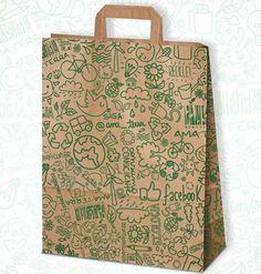 Paper bag design by Vitor Martins.