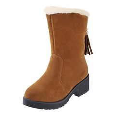 Pretty Fashion Women Winter Warm Flat Snow Boots 39 Yellow -- This is an Amazon Affiliate link. Read more reviews of the product by visiting the link on the image.