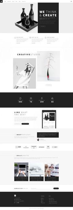 Website Design Trends 2020 • Tech Creative Co Flat Web Design, Minimal Web Design, Web Design Trends, Design Websites, Ui Ux Design, Web Design Blog, Layout Design, Corporate Website Design, Web Design Mobile