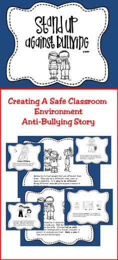 Stand-Up Against Bullying- Bully Prevention Story   #TpT  # Bullying  #education