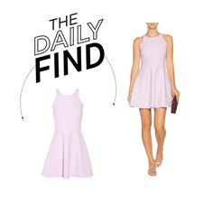 Daily Find: Elizabeth & James Mini Dress by polyvore-editorial on Polyvore featuring moda, Elizabeth and James and DailyFind