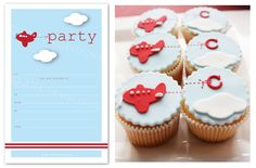 Sambellina's Party - Simple, Stylish Partyware and Stationery: {Real Parties} Little Aeroplane Party