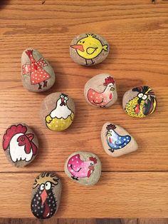Creative DIY Easter Painted Rock Ideas 5
