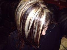 roxy.hair: Blonde Highlights.
