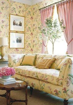 Country Flower Decor