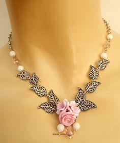 #Pink jewelry  #Sakura  Cherry blossom   Flower by insoujewelry