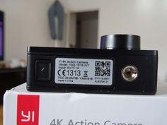 Test Xiaomi Yi Cam 4K - pas de vis pour mettre un trépied