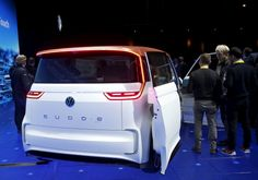2016 BUDD-e electric vehicle from Volkswagen not available in Canada.